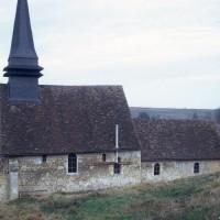 L'église vue du sud (1973)