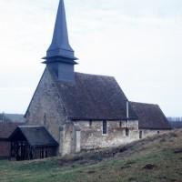 L'église vue du sud-ouest (1973)