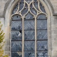 Fenêtre gothique flamboyant au mur sud du choeur (2018)