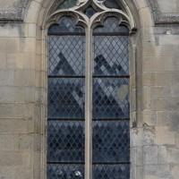 Fenêtre gothique flamboyant au mur nord du choeur (2018)