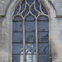 Fenêtre gothique flamboyant au nord du choeur (2018)