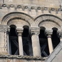 La face est de l'étage du beffroi du clocher (2015)