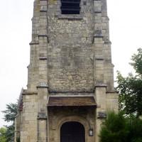 Le clocher-porche vu de l'ouest (2016)