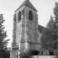 Le clocher-porche vu du sud-ouest (1997)