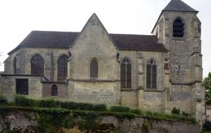 L'église vue du nord (2016)
