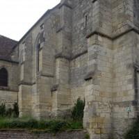 Vue partielle de la nef et de la chapelle sud depuis le nord-ouest (2016)