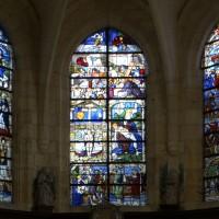 Les trois verrières de l'abside (2016)