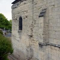 Le mur sud du bras sud du transept (2017)