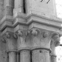 Chapiteaux de l'ensemble choeur-transept du 3ème quart du 12ème siècle (1997)