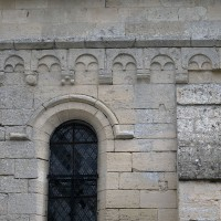 La corniche beauvaisine de la façade ouest du bras sud du transept (2017)
