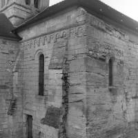 Le bras sud du transept et le clocher vus du sud-ouest (1997)