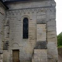 La façade ouest du bras sud du transept (2007)