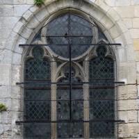 Fenêtre du mur est du choeur (2017)