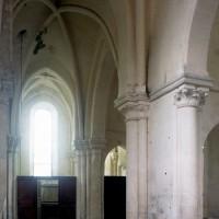 Le transept vu vers le nord depuis le bras sud (1997)