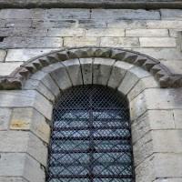 Fenêtre à la façade nord du bras nord du transept (2017)