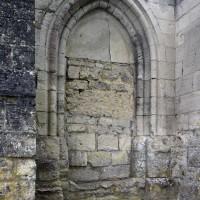 La porte du mur nord de la nef (2017)