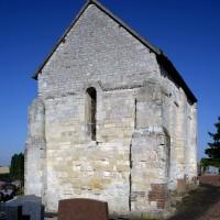 La chapelle vue du nord-est (2016)