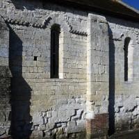 Le mur nord de la chapelle (2016)