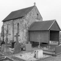 La chapelle vue du nord-ouest (1979)