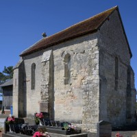 La chapelle vue du sud-est (2016)