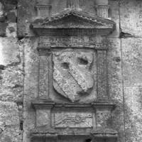 Blason sur la façade ouest (1996)