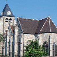L'église vue du sud-est (1996)