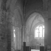 La croisée du transept vue vers le nord-est (1995)