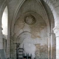 Le bras sud du transept vu vers l'ouest (1995)