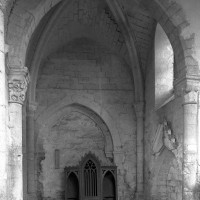 Le bras nord du transept vu vers l'ouest (1995)