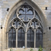 La fenêtre sud de la chapelle sud-est (2015)