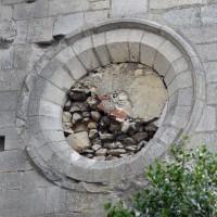Oculus du bras sud du transept (2015)