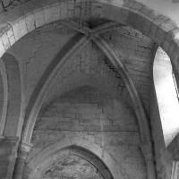 La voûte du bras nord du transept vue vers l'ouest (1995)