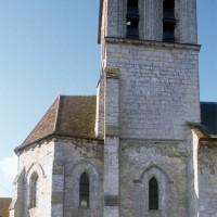 Le clocher et le choeur vus du nord (1996)