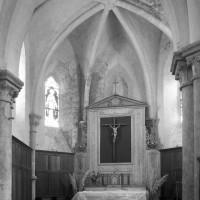 L'abside vue vers le nord-est (1995)