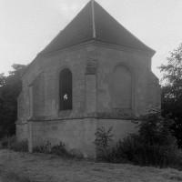 La chapelle vue du sud-est (1995)