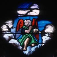 Elément d'un vitrail de l'abside (1996)