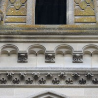 La corniche beauvaisine du clocher du 19ème siècle (2017)