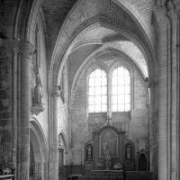 Le bras sud du transept vu vers le sud-est