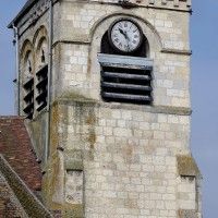 Le clocher vu de l'est (2016)