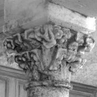 Chapiteau du 14ème siècle de la double pile nord (1993)