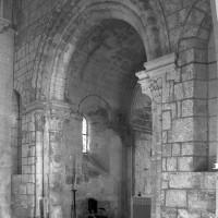 La travée du clocher vue vers le nord-est (1994)