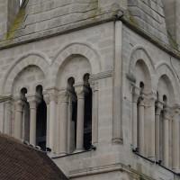 L'étage du beffroi du clocher vu du nord-est (2016)