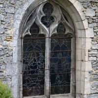 La fenêtre est de la chapelle sud (2017)