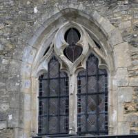 Fenêtre ouest de la chapelle sud (2017)