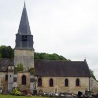 L'église vue du nord (2017)