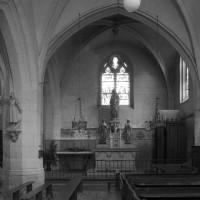La chapelle de la Vierge vue vers l'est (1996)