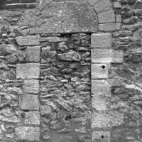 Porte romane au mur nord de la nef (1996)