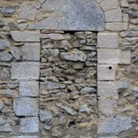 Porte romane au mur nord de la nef (2017)