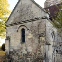 La chapelle nord vue du nord-ouest (2018)