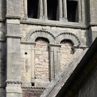 La face sud du deuxième étage du clocher (2015)